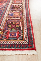 Hand Knotted Persian Josheghan Rug - Red