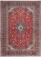 PERSIAN HANDMADE RED KASHAN 11 - 380X270