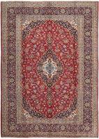 PERSIAN HANDMADE RED KASHAN 37 - 353X254