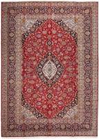 PERSIAN HANDMADE RED KASHAN 49 - 347X248