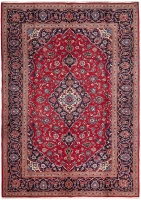 PERSIAN HANDMADE RED KASHAN 87 - 345X250