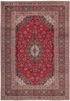 PERSIAN HANDMADE RED KASHAN 95 - 360X250