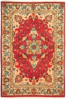 HAND KNOTTED PERSIAN ZABOL RUG