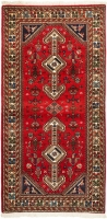 HAND KNOTTED PERSIAN ABADEH RUG