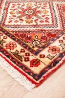 Hand Knotted Persian Rudbar Rug