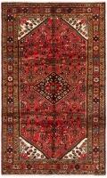 Hand Knotteed Hosseinabad Rug - Red