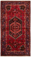 Hand Knotted Khal Mohammadi Rug - Red
