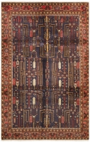 Hand Knotted Persian Rug - 292