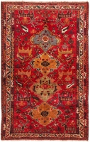 HAND KNOTTED PERSIAN SHIRAZ RUG