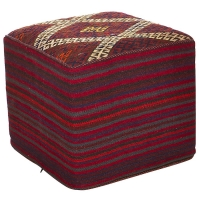 HAND KNOTTED PERSIAN OTTOMAN -204-OK