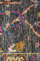 Hand Knotted Pure Wool Afghan - 285x200CM