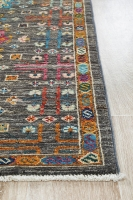 Hand Knotted Pure Wool Afghan - 230x170CM