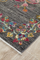 Hand Knotted Pure Wool Afghan - 236x162CM