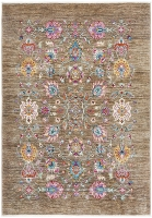 Hand Knotted Pure Wool Afghan - 230x160CM