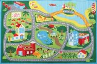 LITTLE CIRCUS ROAD MAP BEACH BLUE