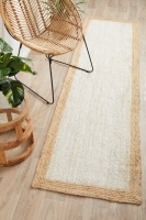 NOOSA 333 WHITE NATURAL RUNNER