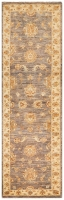 HAND KNOTTED CHOBI RUG - MULTI - 262X78C